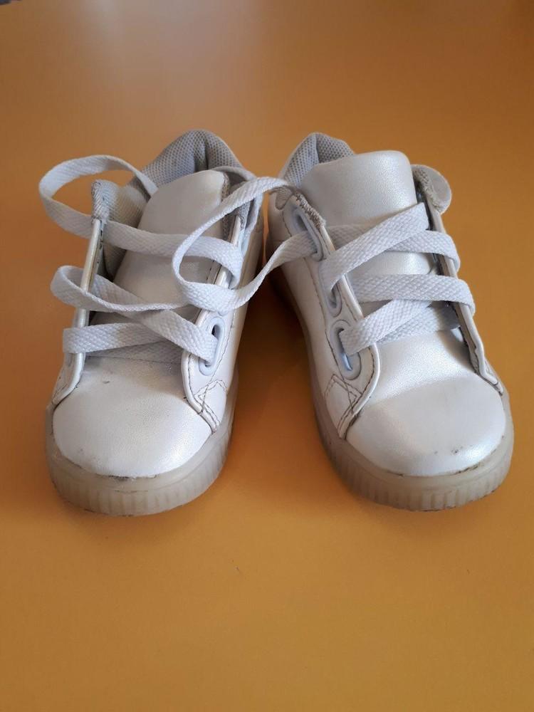 Белые ботиночки фото №1
