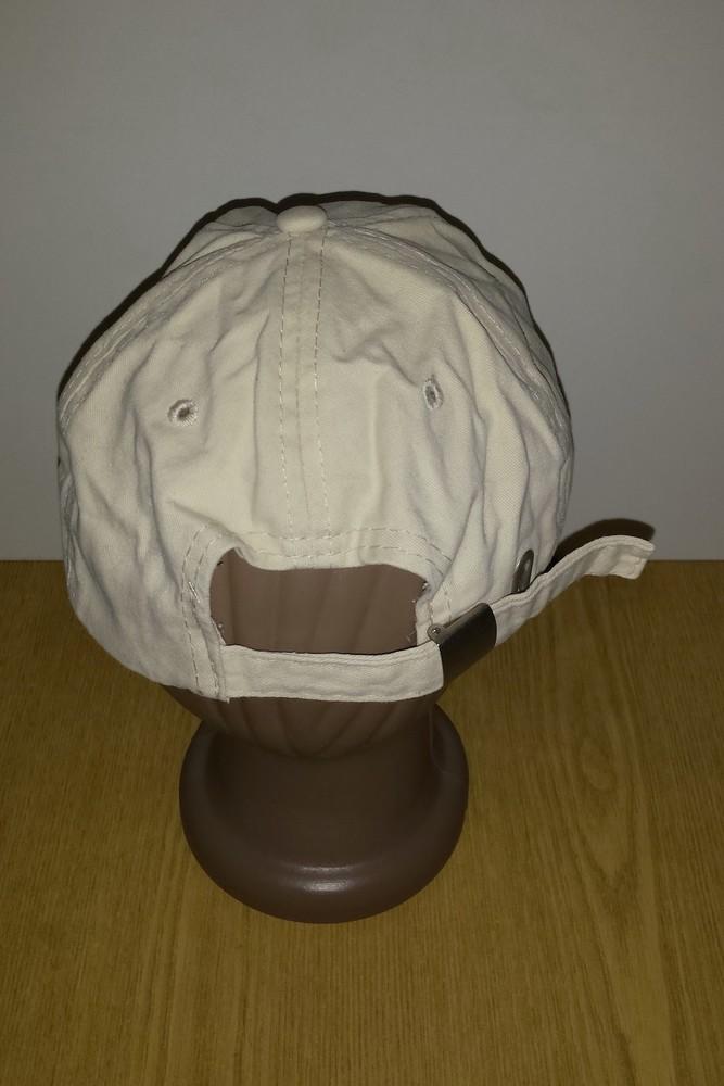 Одежда вещи головной убор кепка бейсболка светлая коттон хлопок обхват 56 см фото №4