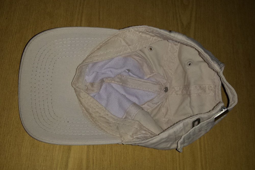 Одежда вещи головной убор кепка бейсболка светлая коттон хлопок обхват 56 см фото №5