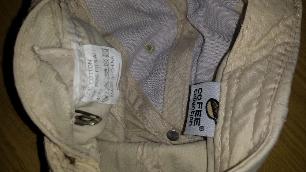 Одежда вещи головной убор кепка бейсболка светлая коттон хлопок обхват 56 см фото №6