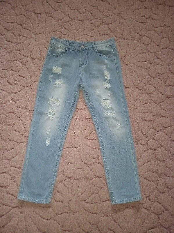 Продам красивые и модные джинсы на девушку 44-46 р. фото №1