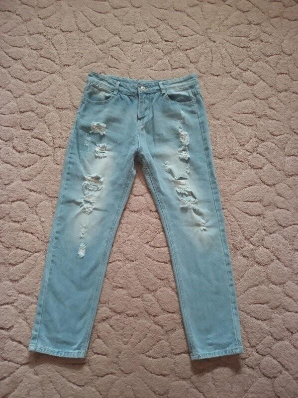 Продам красивые и модные джинсы на девушку 44-46 р. фото №3