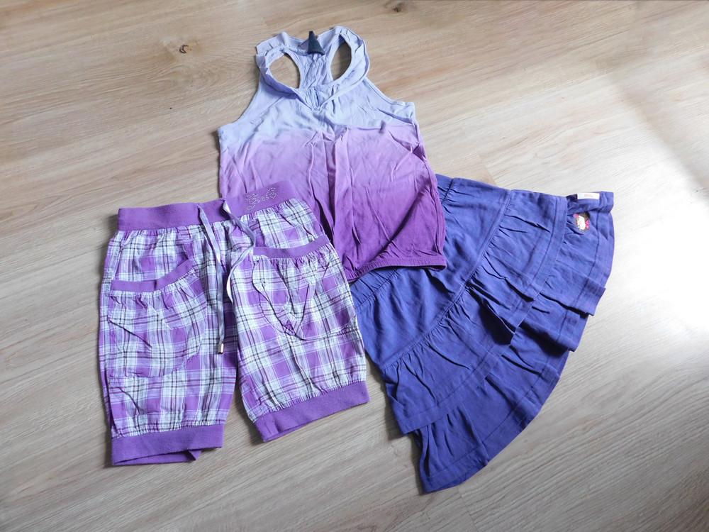 Майка юбка шорты на 6-8 лет фото №1