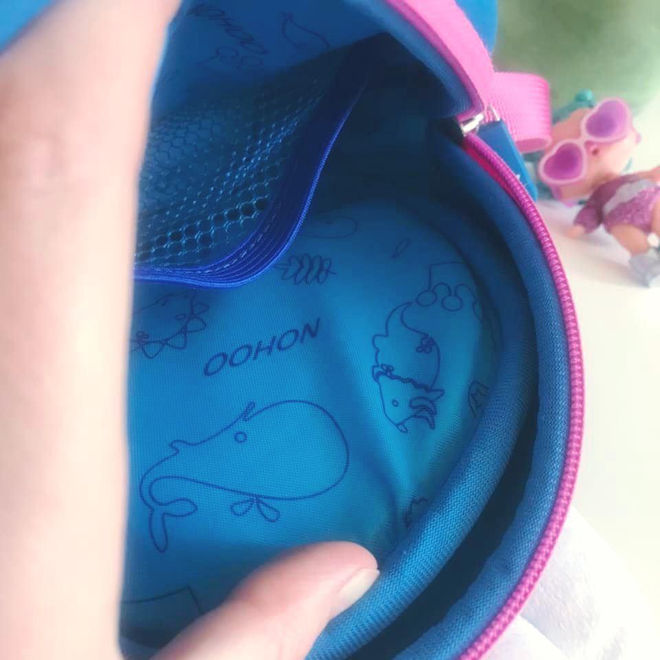 Nohoo сумка rabbit - с ушками кролика и бантиком, много отделений фото №5