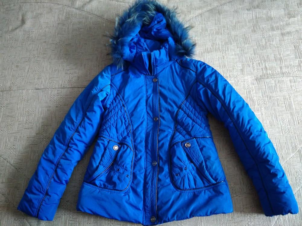 Яскрава зимова курточка фото №1