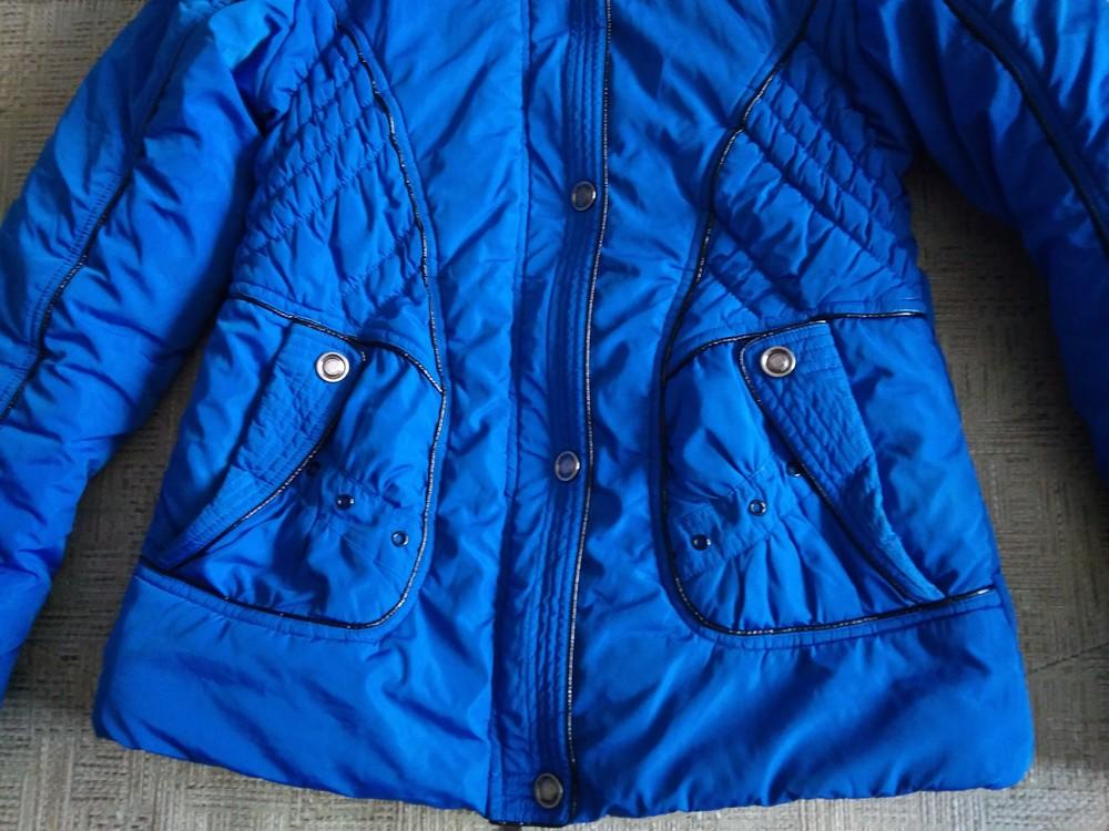 Яскрава зимова курточка фото №2