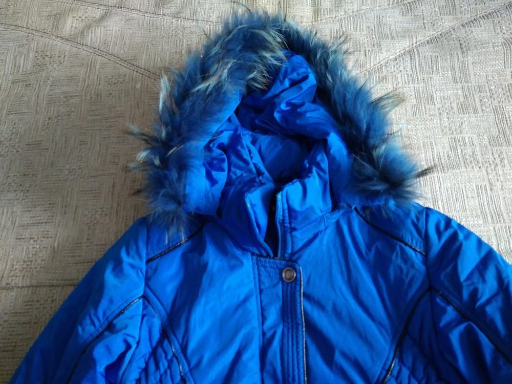 Яскрава зимова курточка фото №3