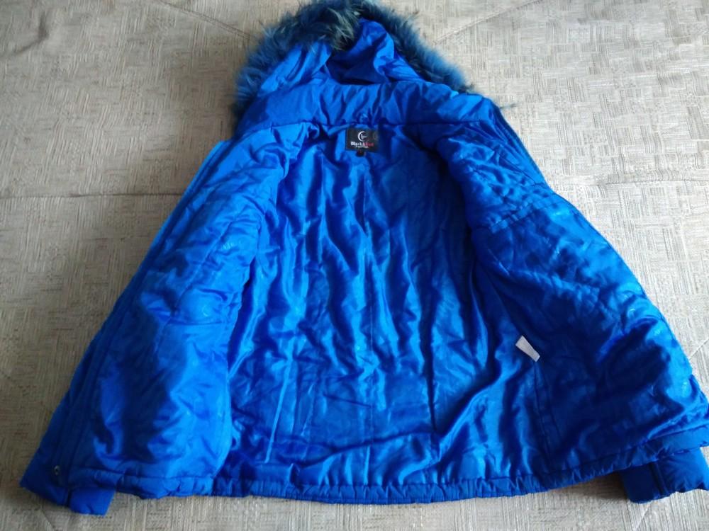 Яскрава зимова курточка фото №4