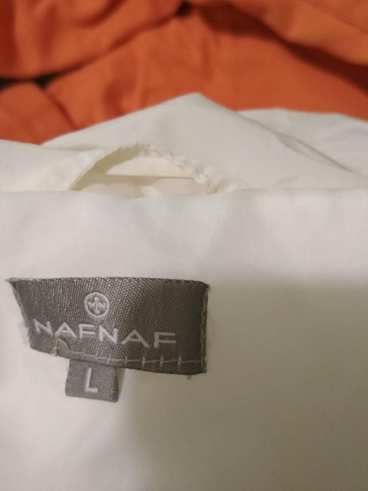 Тканева курточка на штучному хутрі фото №4