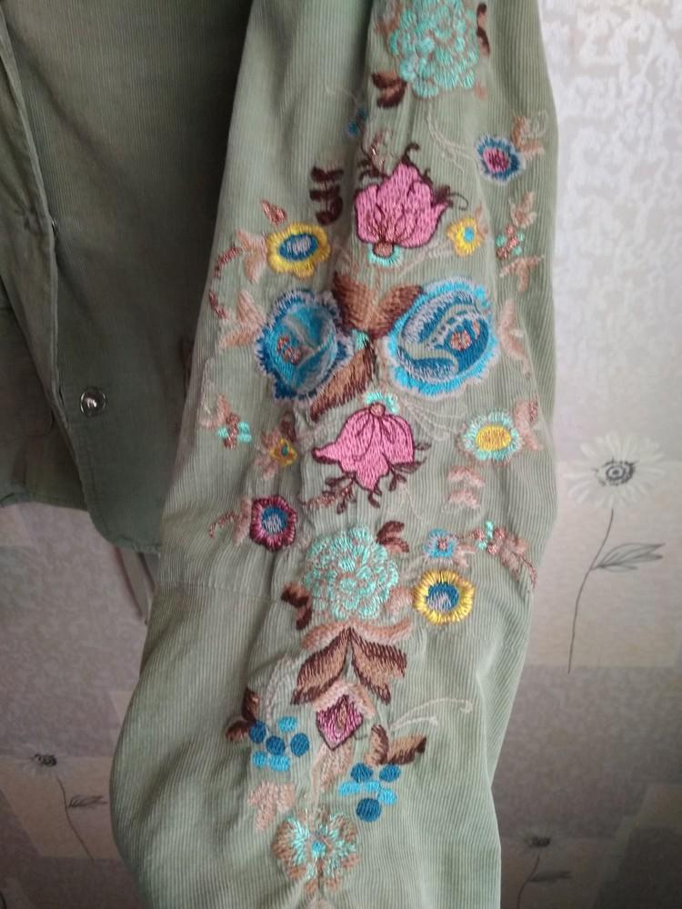 Стильний піджак з вишивкою фото №2