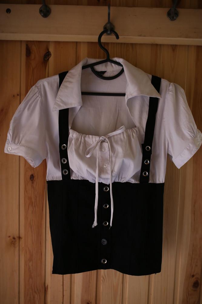Блуза с корсетом на пышную грудь фото №1