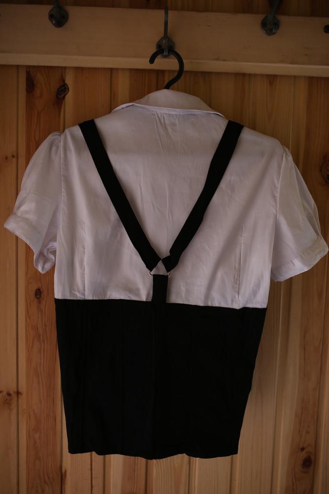Блуза с корсетом на пышную грудь фото №5