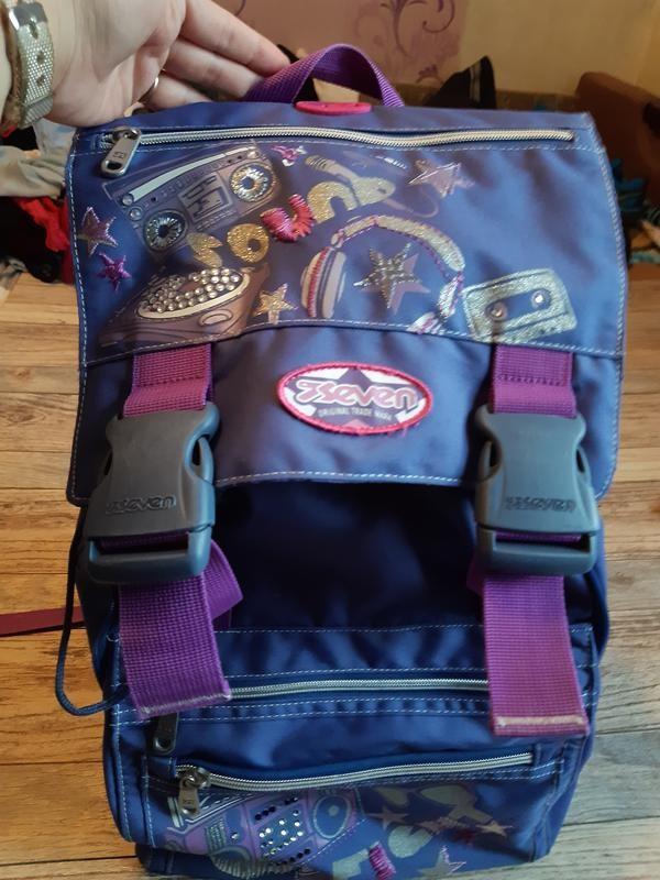 Детский подростковый туристический рюкзак seven для девочки фото №3
