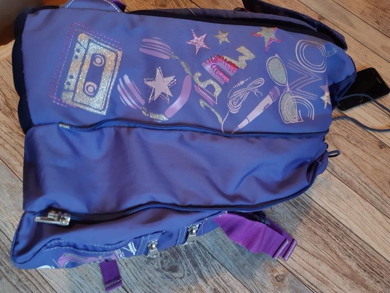 Детский подростковый туристический рюкзак seven для девочки фото №5