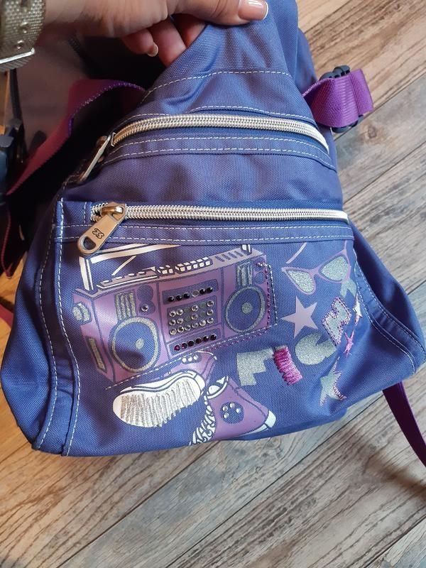 Детский подростковый туристический рюкзак seven для девочки фото №6