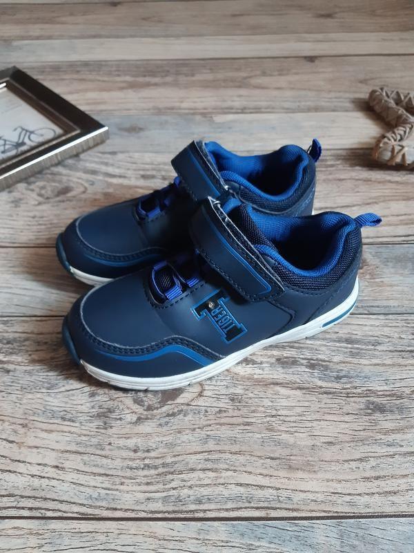 Мигающие кроссовки для мальчика lupilu tigers фото №1