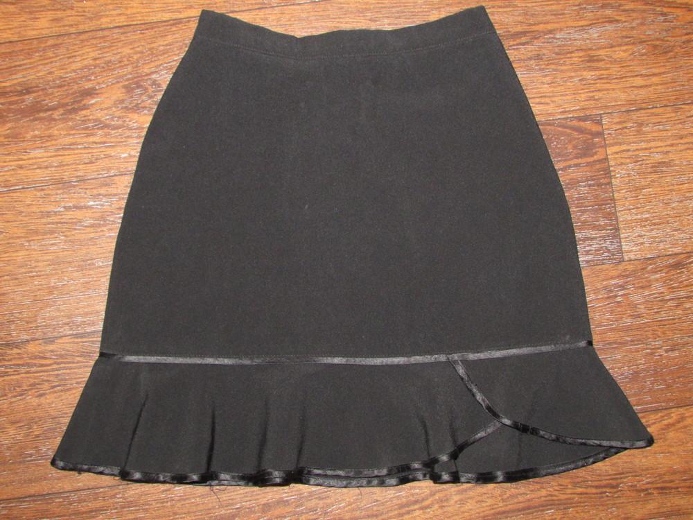 Брендовая школьная юбка. на 1-2 класс. замеры на фото фото №1