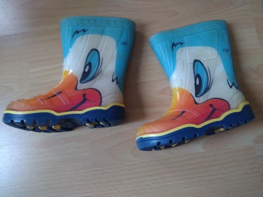 """Гумові чобітки litma """"качки"""", 15 см + подарунок! фото №1"""