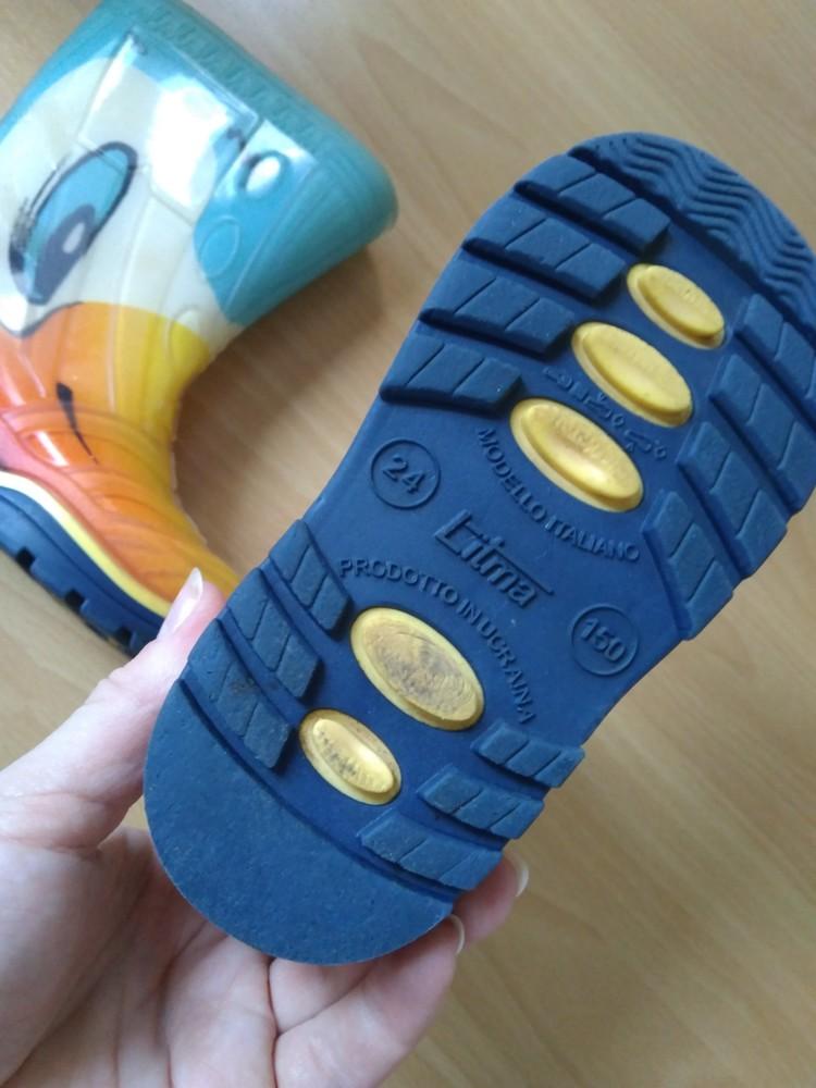 """Гумові чобітки litma """"качки"""", 15 см + подарунок! фото №2"""