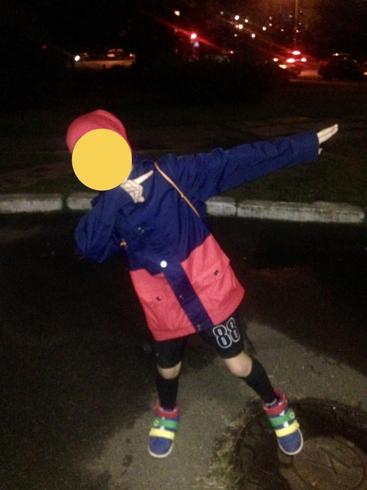 Ветровка плащ удлиненная мальчику, торг фото №5