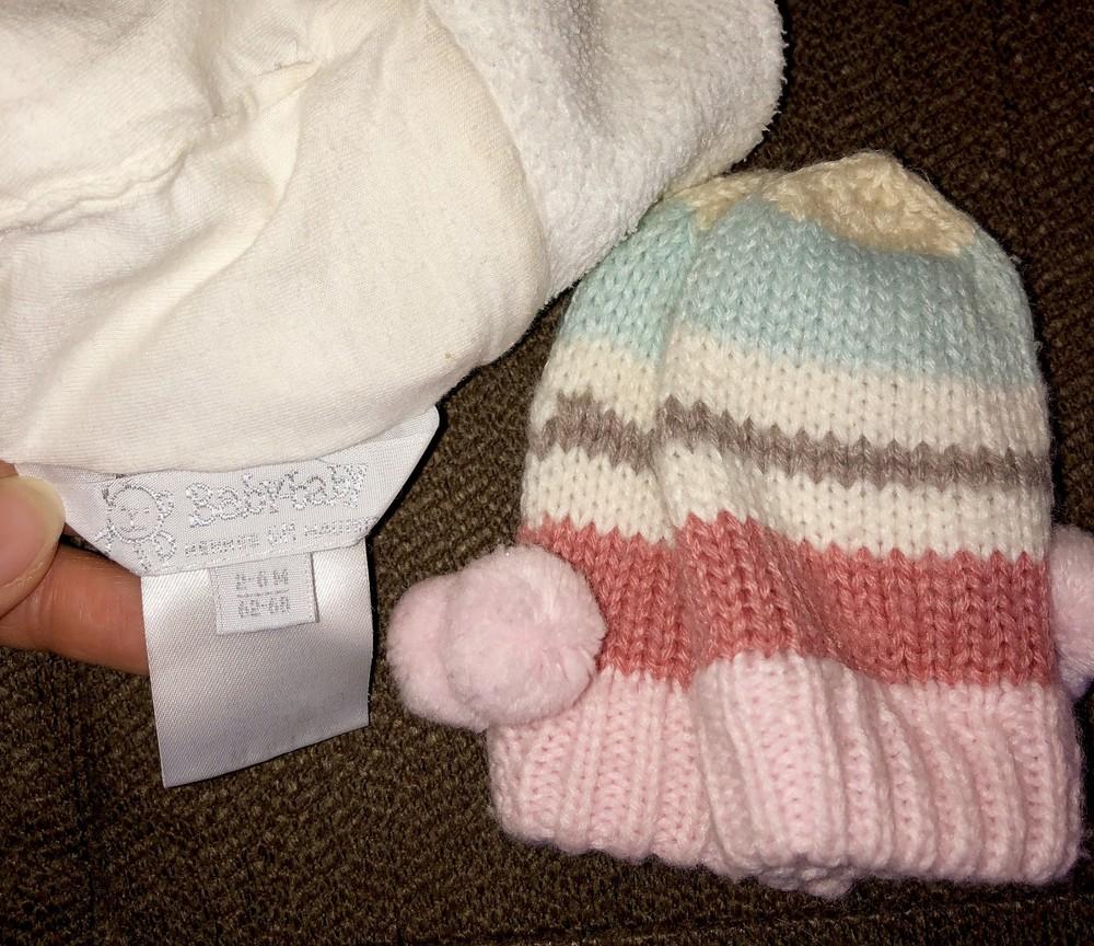 Шапочка и рукавички для маленькой принцессы baby-baby фото №2