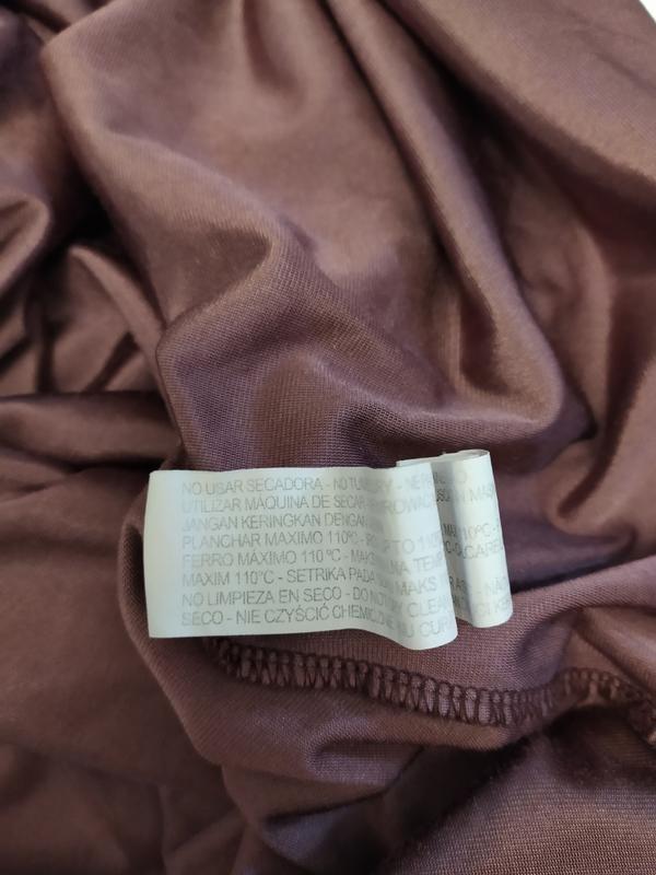 Stradivarius трендовое бархатное велюровое платье фото №9