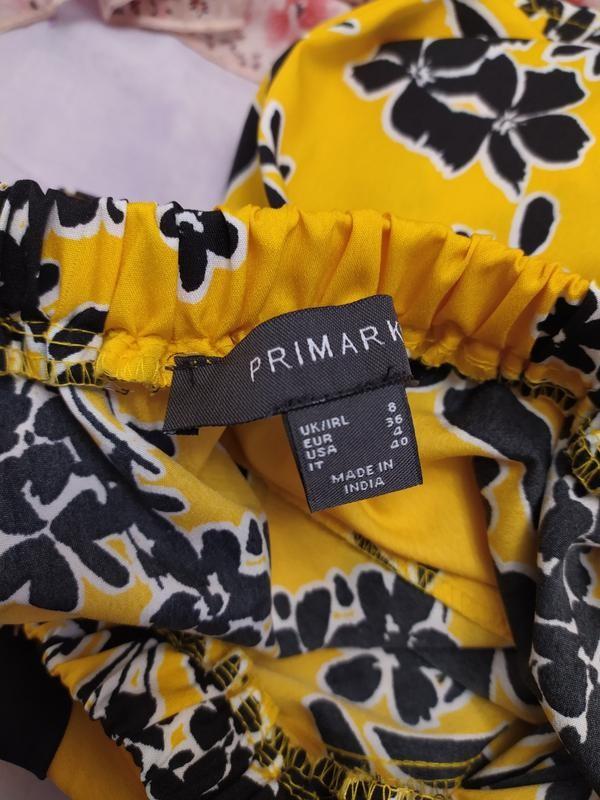 Primark легкое платье с открытыми плечами, р.8-36 фото №9