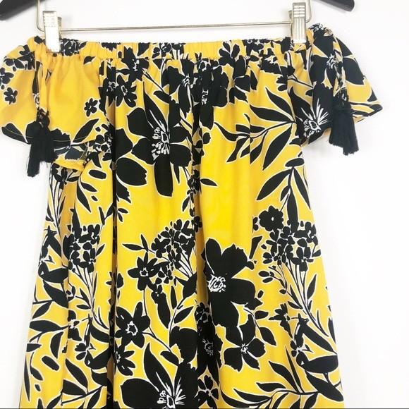 Primark легкое платье с открытыми плечами, р.8-36 фото №10