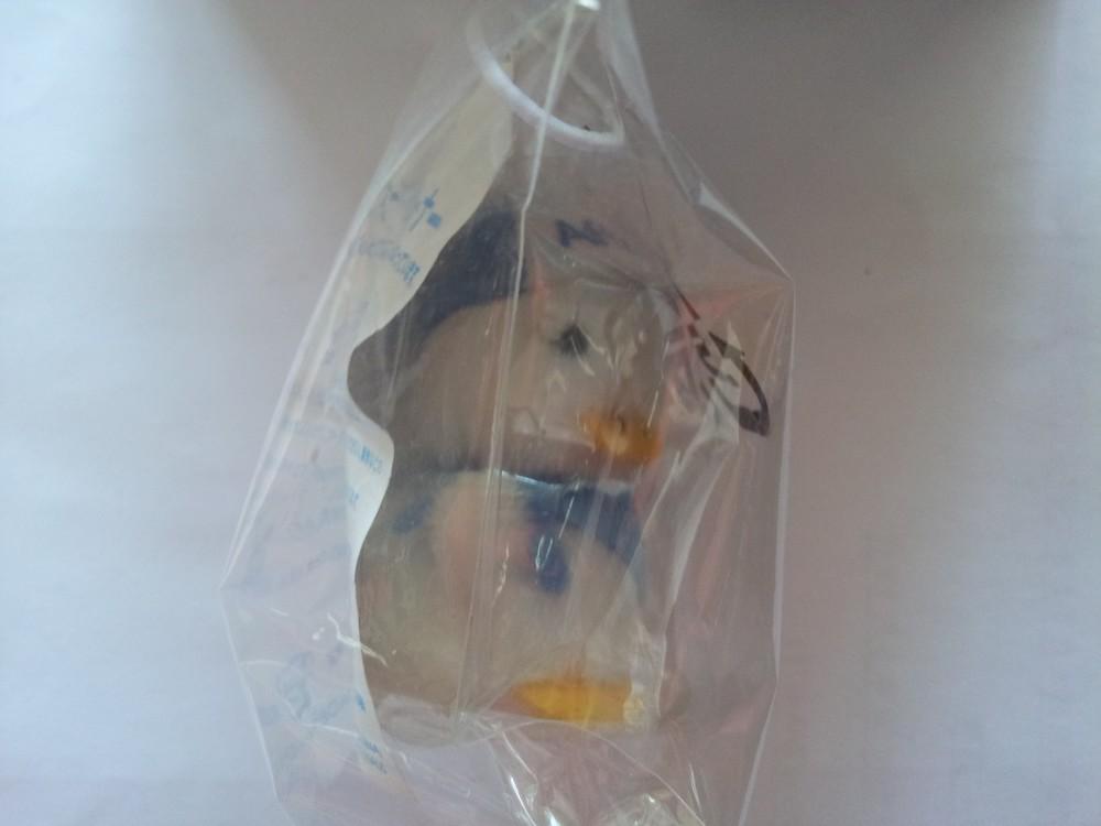Подвеска украшение игрушка - клинер экрана для айфона утенок афлак фото №6