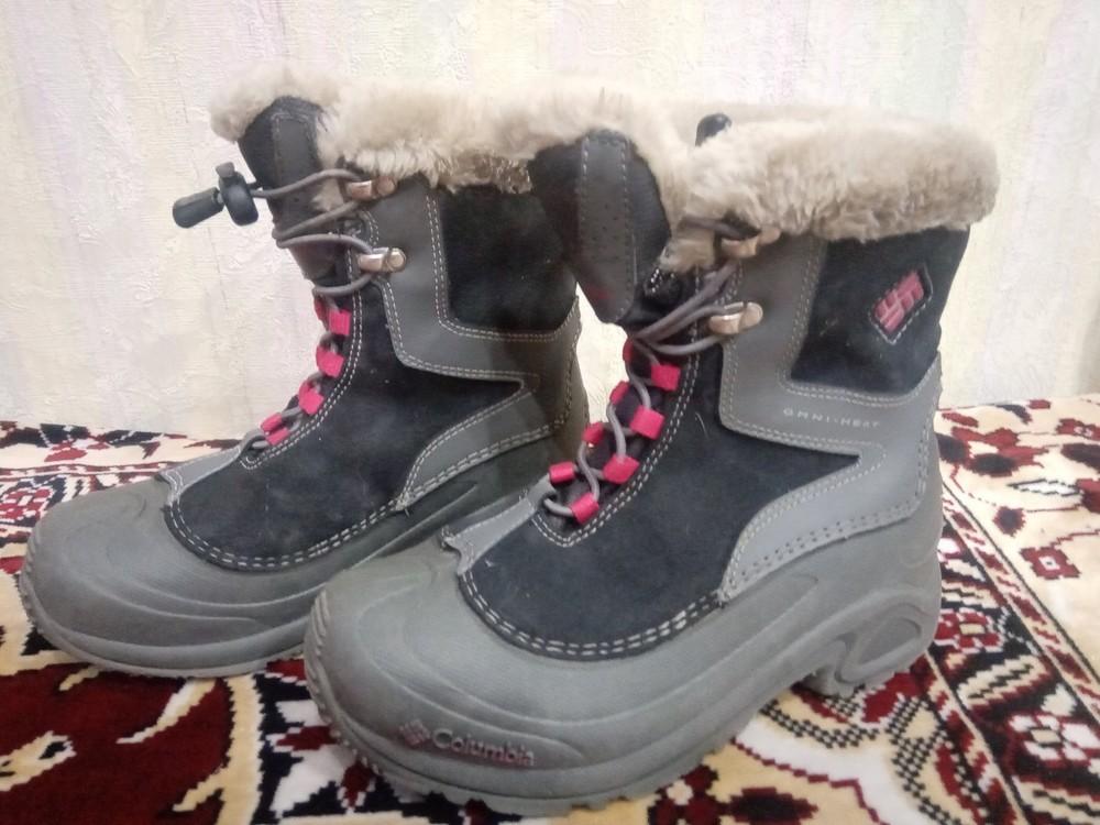 Ботинки детские с термоподкладкой. фото №1