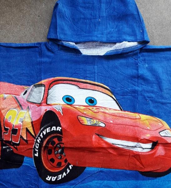 Пляжне полотенце пончо фото №3