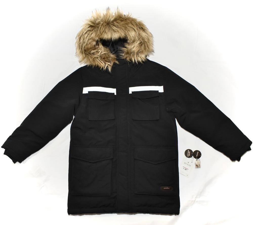 Парка, зимняя куртка, пуховик zara. натуральный наполнитель пух-перо фото №1