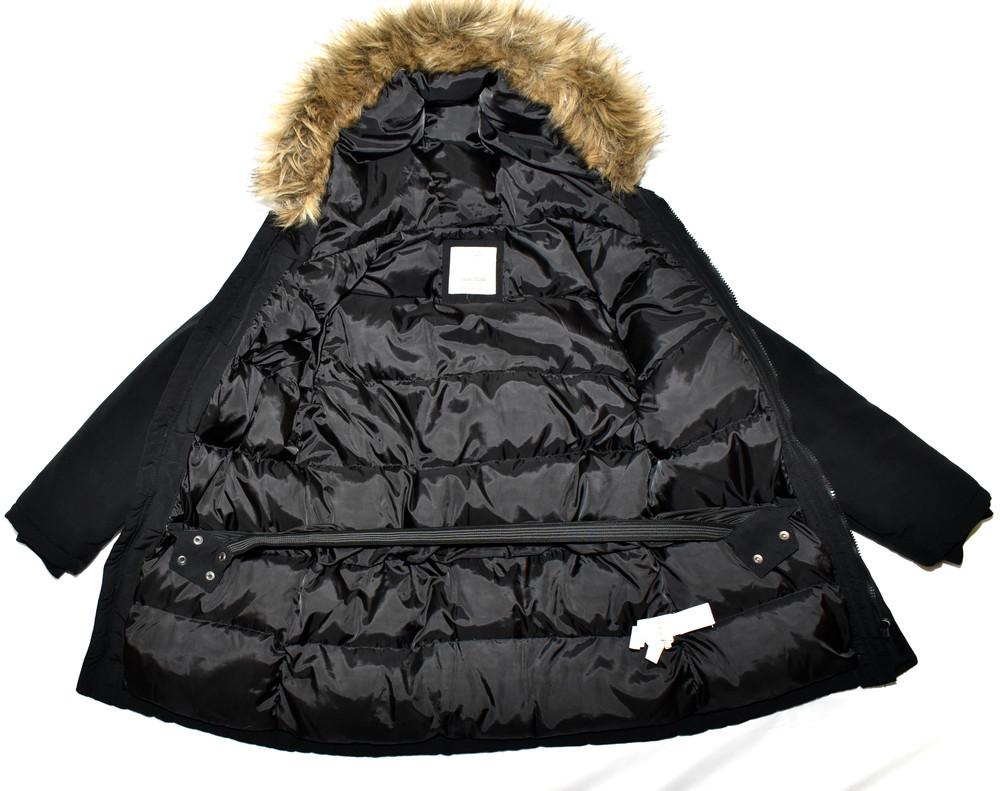 Парка, зимняя куртка, пуховик zara. натуральный наполнитель пух-перо фото №6