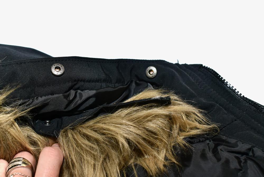 Парка, зимняя куртка, пуховик zara. натуральный наполнитель пух-перо фото №7