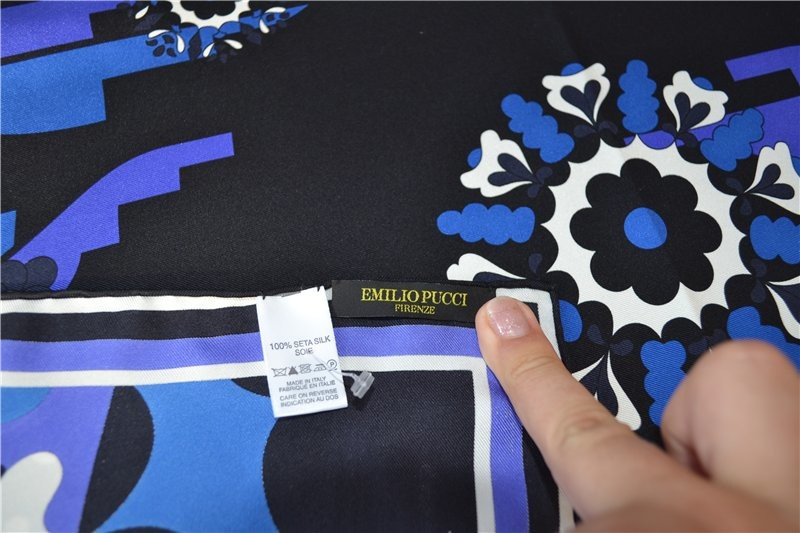 Платок emilio pucci 100% silk ,оригинал фото №4