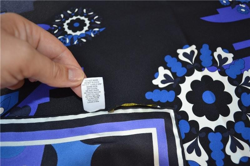 Платок emilio pucci 100% silk ,оригинал фото №5