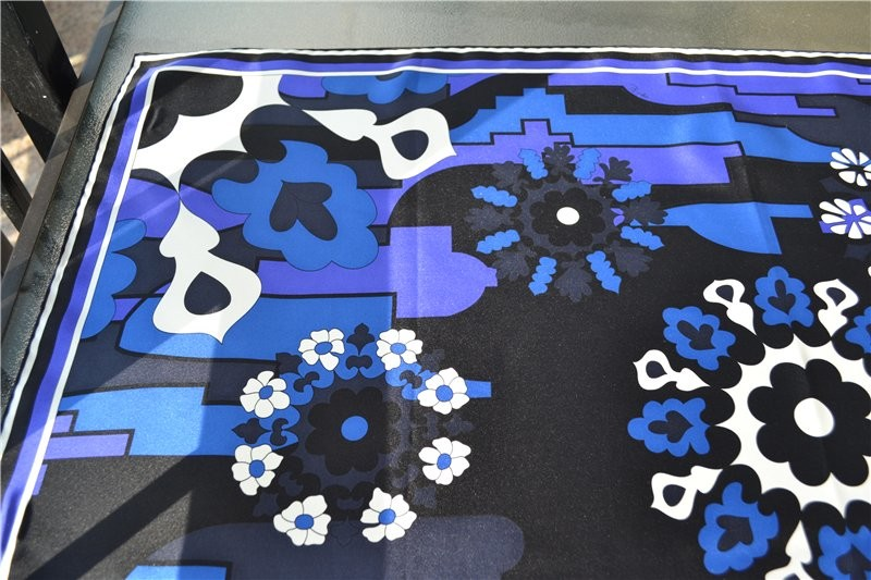 Платок emilio pucci 100% silk ,оригинал фото №6
