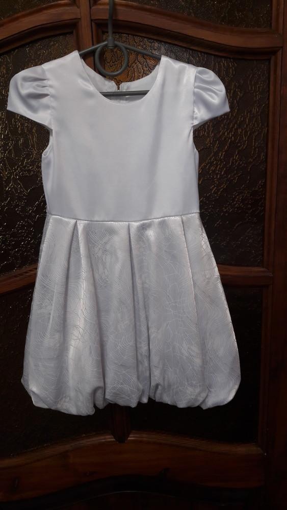Нарядное платье на девочку рост104см фото №2