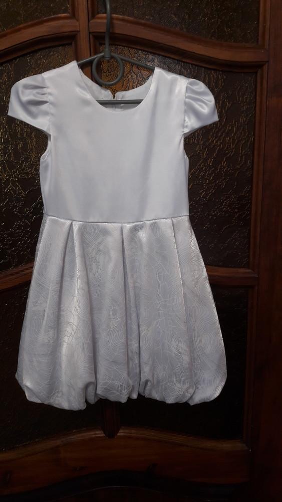 Нарядное платье на девочку рост104см фото №3