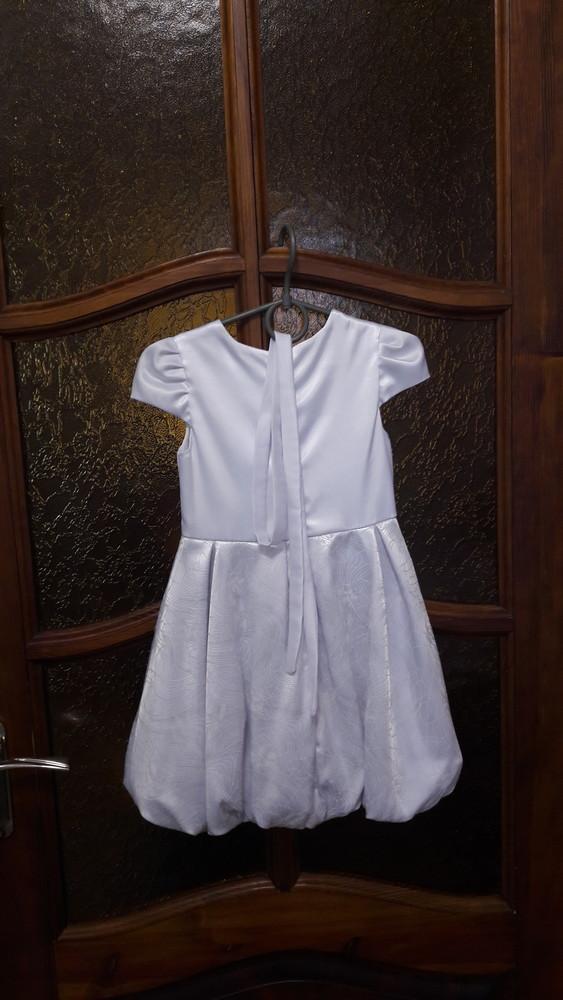 Нарядное платье на девочку рост104см фото №4