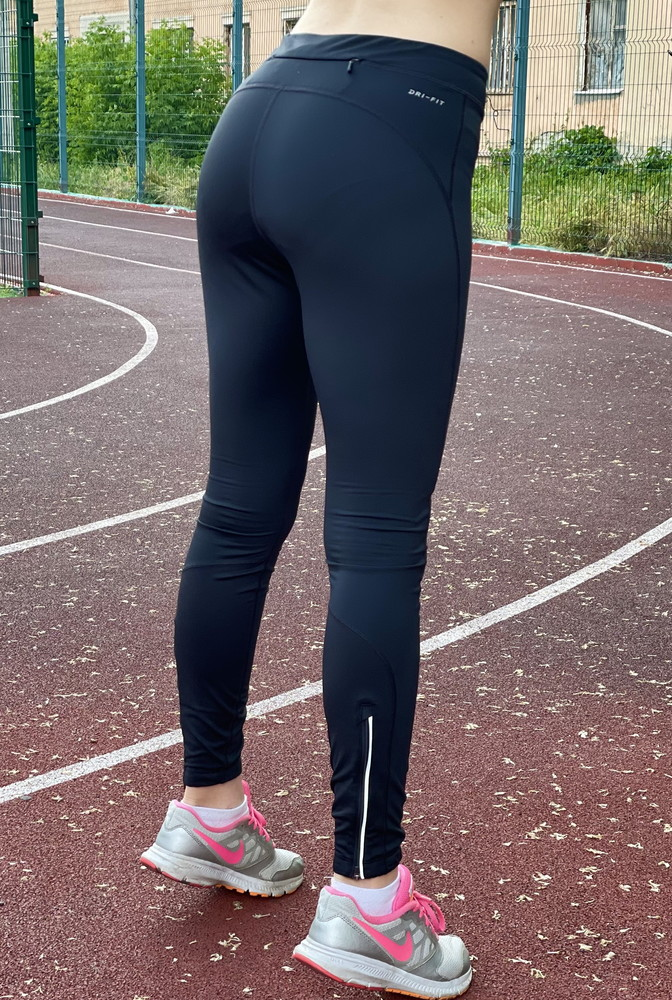 Спортивные лосины nike фото №3