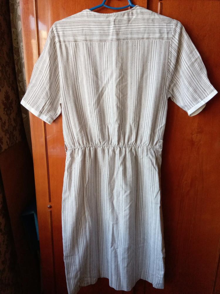 Льняное летнее платье р.42euro фото №4
