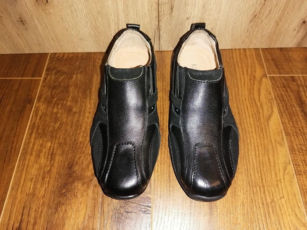 Кожаные туфли для мальчика, 32 размер фото №2