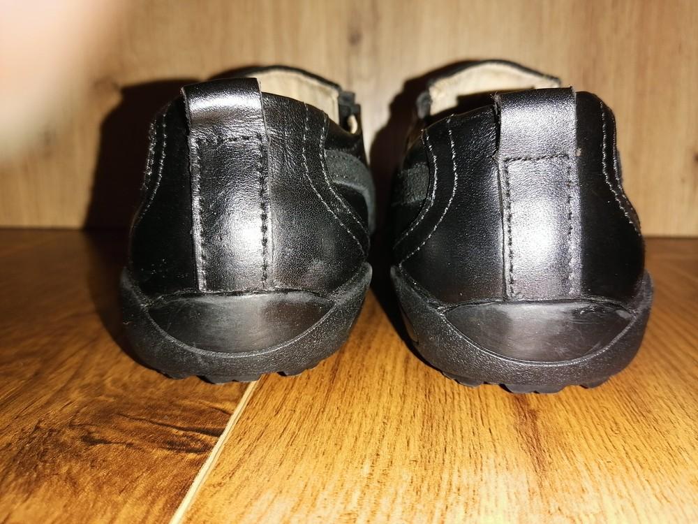 Кожаные туфли для мальчика, 32 размер фото №3