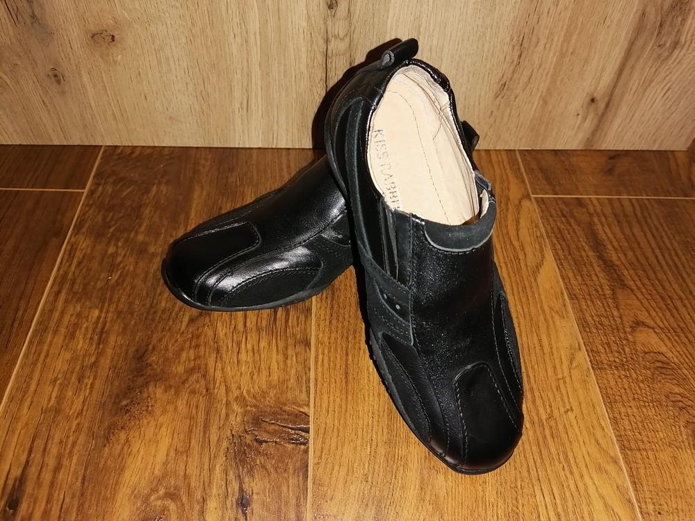 Кожаные туфли для мальчика, 32 размер фото №8