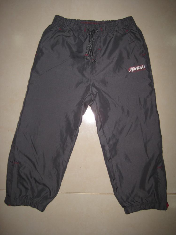 1/391. штаны для мальчика. на 3-4 года, 104 см (см. замеры). rebel. в отличном состоянии! фото №1