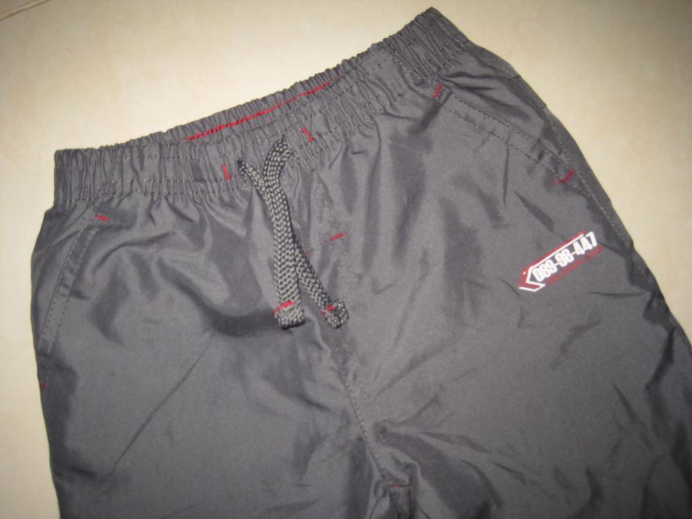 1/391. штаны для мальчика. на 3-4 года, 104 см (см. замеры). rebel. в отличном состоянии! фото №2