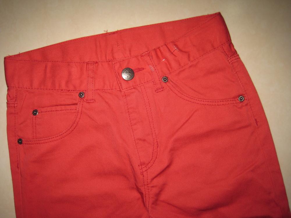 1/414. штаны для девочки. на 7-8 лет, рост 128 см. (см. замеры). h&m. в хорошем состоянии! фото №2