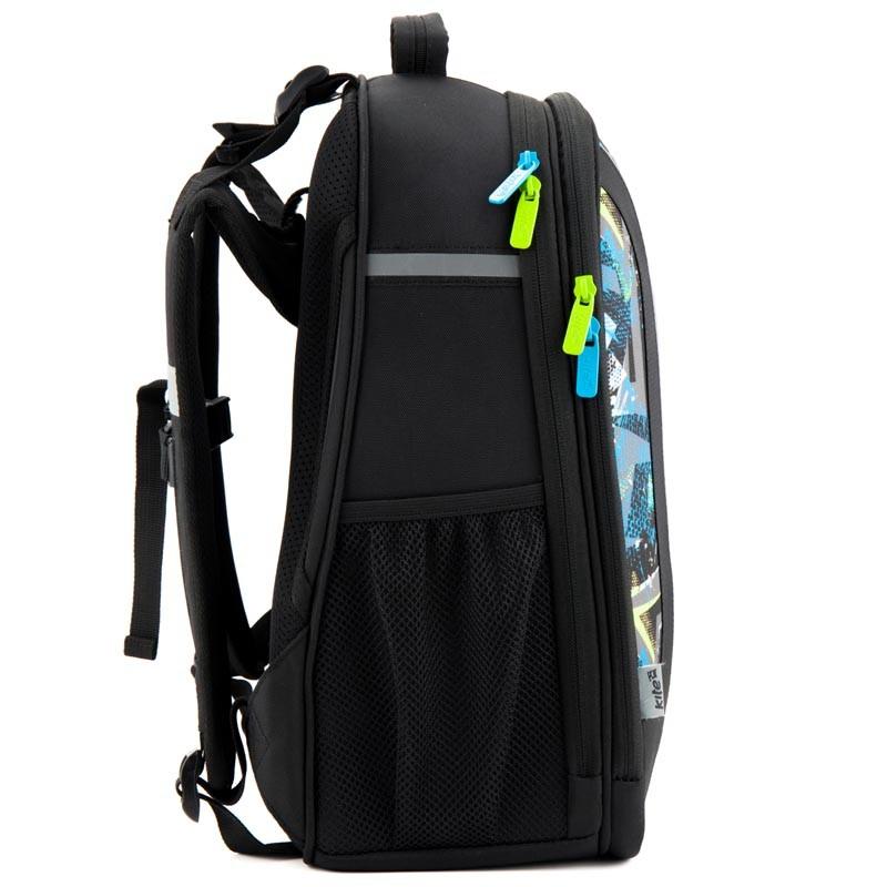 Каркасный школьный рюкзак kite k18-703m-1 для мальчика фото №4