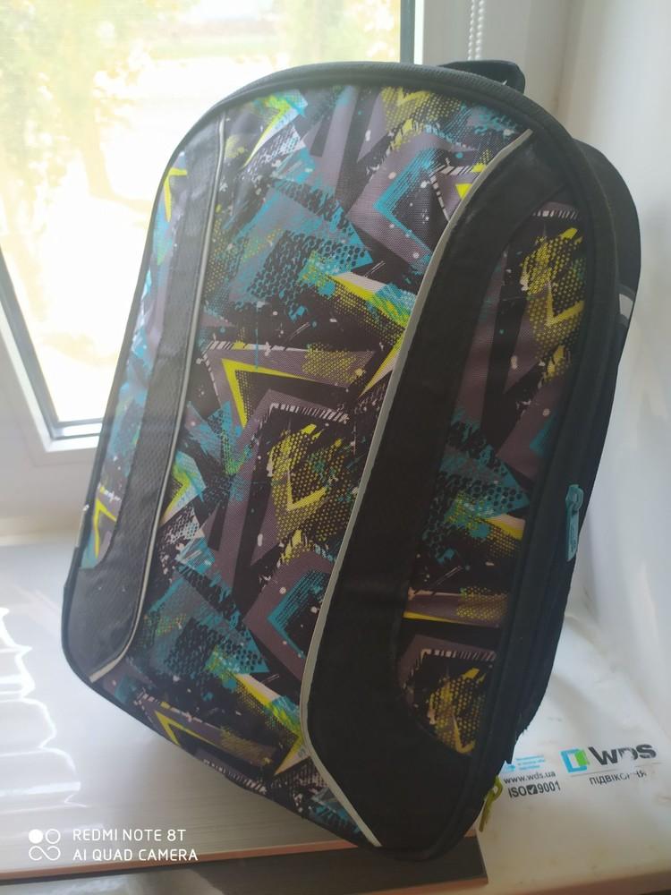 Каркасный школьный рюкзак kite k18-703m-1 для мальчика фото №6
